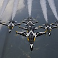 Thumbnail for post: Black Eagles showcase the T-50 for Korea Aerospace Industries at the Savoy
