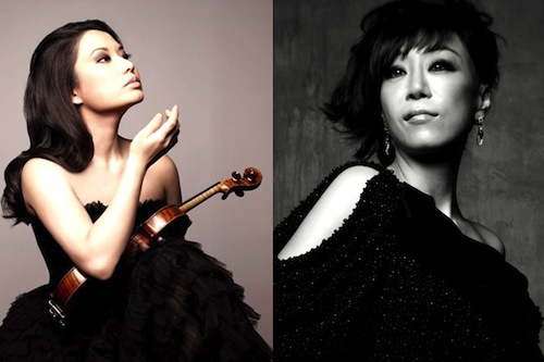 Sarah Chang and Sumi Jo