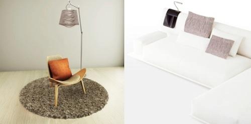 Seonyoung Kwon lighting and cushion