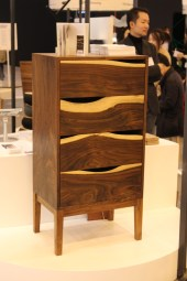 A handmade walnut chest from Jahyung KIM