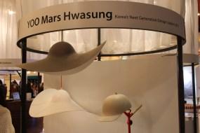 Hat-shaped lampshades by Mars Hwasung YOO