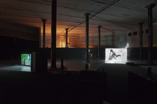 Sung Hwan Kim: The Tanks Commission, 2012 (installation view) © Sung Hwan Kim. Photocredit: Tate Photography