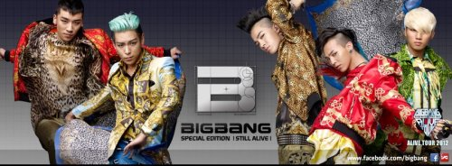 Big Bang tour poster