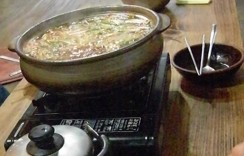 Hot, spicy rabbit stew (토끼탕)