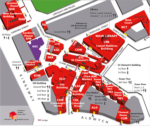 LSE map