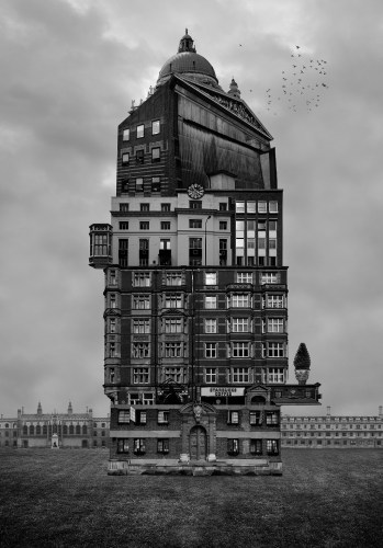 Beomsik Won: Archisculpture008 (2012) Photography, 100 x 70cm