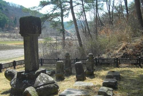 Sejong Taeshil memorial stele