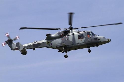 The AgustaWestland AW-159 Lynx Wildcat AH1