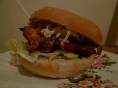 Dak Galbi Burger