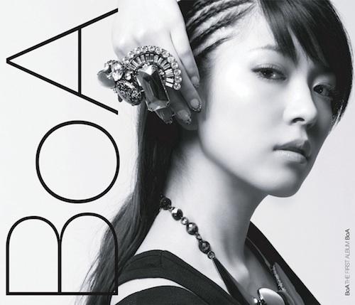 BoA US album cover