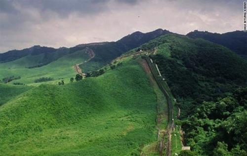 Along Korea's 155-mile-long demilitarized zone