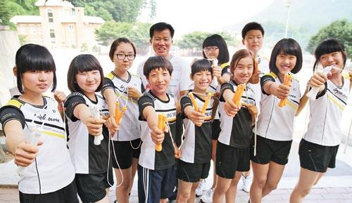 Ulleungdo-skipping-team