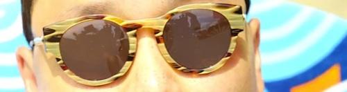 Psy tortoise-shell sunglasses-500