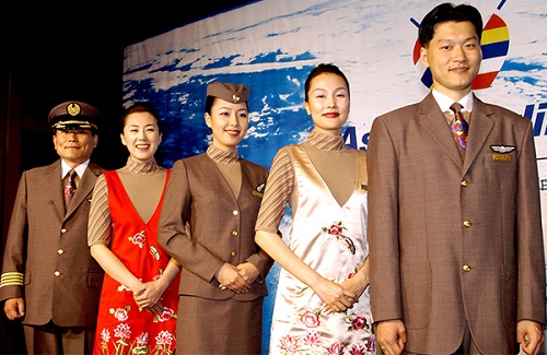 Asiana uniforms
