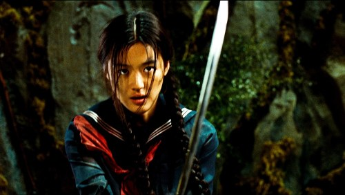 Jeon Ji-hyun as Saya in The Last Vampire