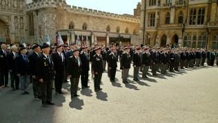 War veterans at the Abbey - photo © the Korean Cultural Centre UK