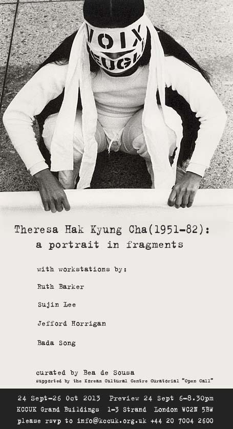 Theresa Hak Kyung Cha poster