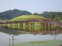 The Suncheon Lake Garden by Charles Jencks