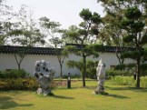 Ornamental rocks in the Chinese Garden