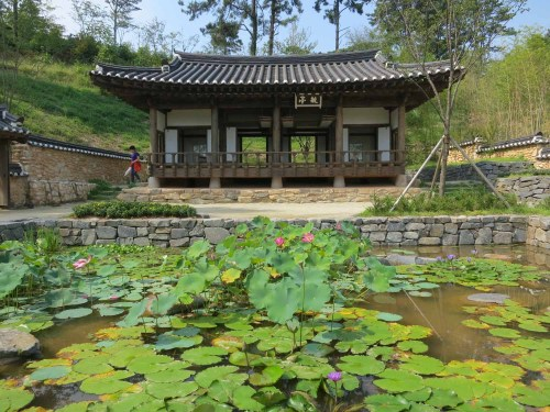 The Nobleman's Garden section of the Korean Garden