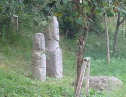 Stone Buddhas everywhere
