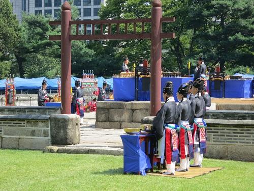 The Sajik Daeje rituals