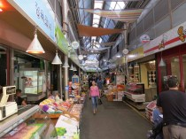Inside Tongin market