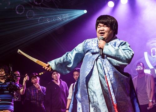 Pansori singer Lee Seung-min