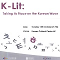 Thumbnail image for The challenges of marketing and translating Korean literature explored at the KCC