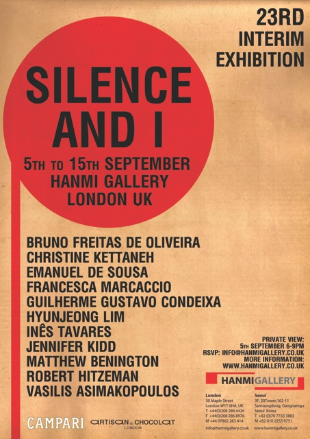 Silence and I poster