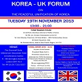 Thumbnail image for Conference report: ROK-UK Forum on Peaceful Unification of Korea and Human Rights in North Korea