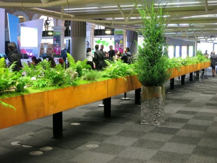 Not even Psy in a pink jacket can draw your attention from the unique 22 metre long indoor garden
