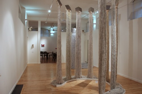 Installation view at October Gallery