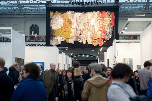 Visitors at Art13 London