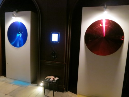 Yun Sungfeel: Looking at The real world from within The real world - currently installed at Sketch in Mayfair