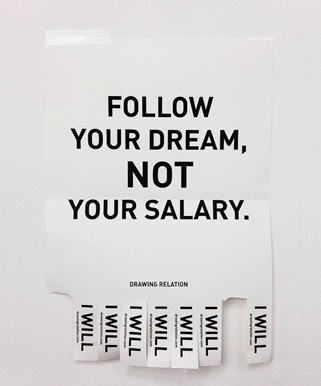 Jinho Lee, Follow Your Dream, Not your Salary, Campaign, 2014