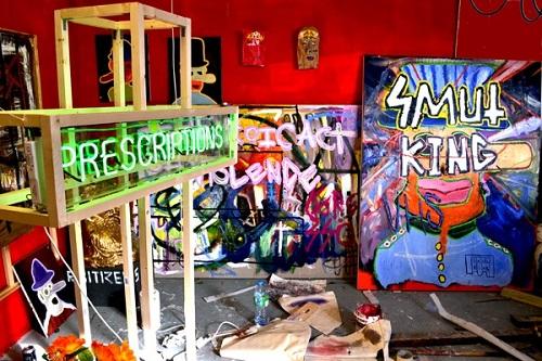 Leonard Johansson: Artist Studio (2014)