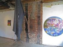 Second floor installation view