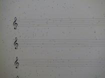 """A close-up of the """"manuscript"""" of Ribbon of Error"""