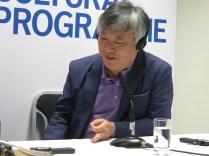 LBF - Yi Mun-yol talks on the use of allegory