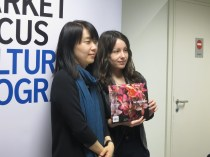 LBF - Han Kang with her translator Deborah Smith