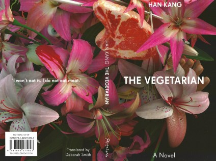 LBF - The cover of the translation of Han Kang's The Vegetarian