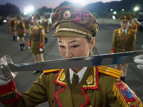 Nick Danziger DPRK photo
