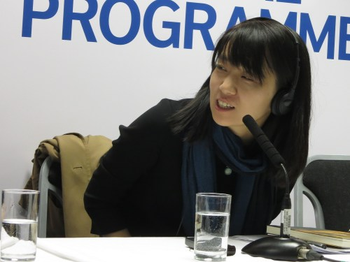 Han Kang, 9 April