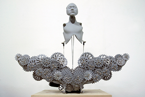 Wang Ziwon: Mechanical Buddhahood, 2014