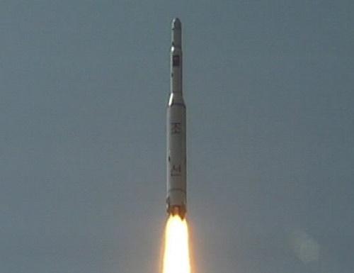 North-Korean-rocket