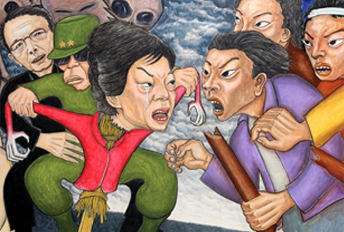 Featured image for post: Hong Seong-dam's art in the news again
