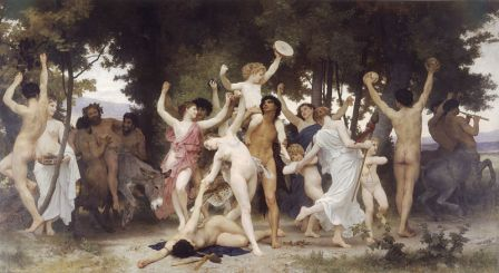 William-Adolphe Bouguereau: The Youth of Bacchus (1184)