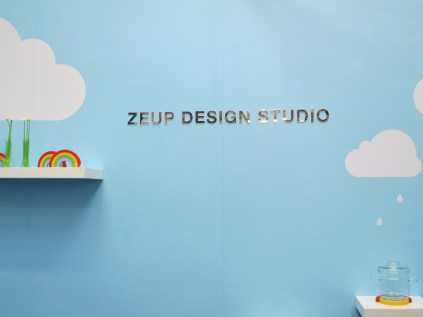 The display of Zeup Design Studios