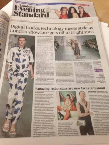 Evening Standard 12 September 2014